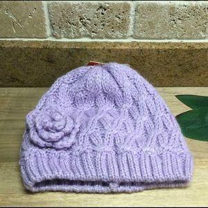 3/$20 - New Baby Girl's Joe Fresh Knit Hat